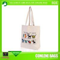 Customized logo Cotton Jewelry Drawstring Gift Bag