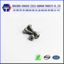M2X4 stainless steel hexagon socket round head screw