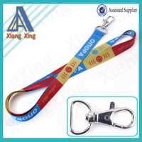 Exibition product arrived new promotion custom lanyard keychain no minimum order