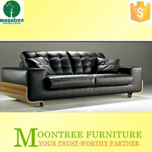 Moontree MSF-1111 Top Quality Fabric Upholstered Solid Teak Wood Sofa