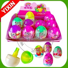 Fun Egg Shape Candy Spray Factory In China