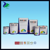 1K easy to apply for basecoat silver color paint (Manufacture in Guangzhou)