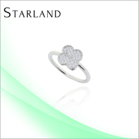 Silver Micro Pave Ring Silver Ring Designs Women 2012