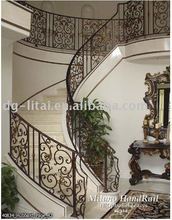 cast iron spiral stair