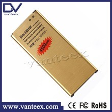 Factory battery manufacturer gold li-ion battery for samsung note 4 custom logo