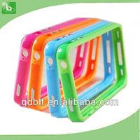simple design tpu bumper for iphone4 bumper case