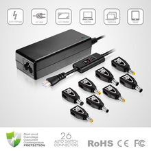 70W best seller universal laptop home-powered adapter with lcd screen dc cable for Acer/for sony/ for hp