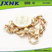 fashion decorative buttons chain for clothing and bags