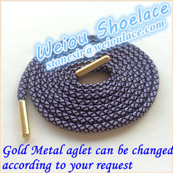 2015 hot new products rope shoe lace for asics shoes MOQ 20 pairs~50 colors
