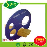 round shape kitchenware/Noodles Measuring Tool Spaghetti Pasta ruler