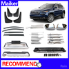 auto parts for jeep cherokee 2014-On from maiker running board ,Bumper,Mud guard ,Door sill plate off Road parts