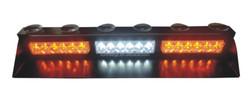 WINDSHIELD CAR LED FLASHING STROBE LIGHT,VISOR LED FLASH STROBE LIGHT (SR-LS-163T), 1W TOP BRIGHT LED