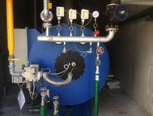 RAPID STEAMING BOILER USED