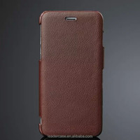 2015 fashion paint genuine leather cell phone case for iphone 6