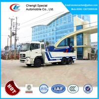 DongFeng 6x4 heavy duty rotator tow truck,30tons rotator tow truck for sale