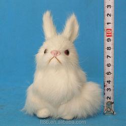 wholesale fur stuffed handmade fake plastic small fast selling pet rabbit