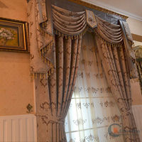 2014 china wholesale ready made curtain,ready made curtain fabric