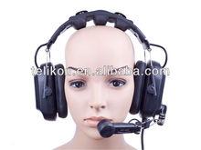 HD-202 Dual Ear Intercom headset for talkback system