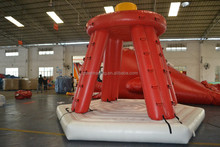 commercial use fire truck inflatable water slide