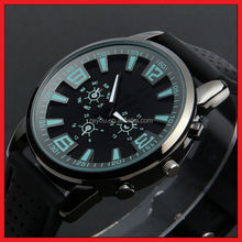Men watches silicone ,alloy case quartz watch watch brands chinese