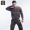 Bemme tops de marca de manga larga de los informal suéter de lana hombres