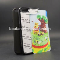 Newest design 2D 2in1 TPU+PC sublimation phone case for I IPHONE6 4.7inch