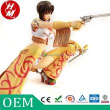 OEM plastic custom action figure toys,customized adult anime figures