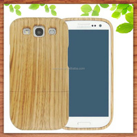 hot selling 2015 real wood hard case cover for Samsung Galaxy S3 I9300, bamboo phone case for samsung S3-Worknet