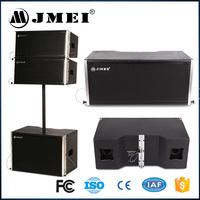 JMEI LA-208 Profesional Two-way Speaker China Music DJ Line Array Loudspeaker Equipment