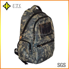 2014 camo solar panel backpack