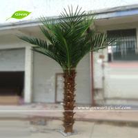 GNW APM023 Guangzhou Wholesale Artificial Mini Palm Trees for garden decor