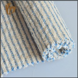 new products 2015 yarn dyed pique stripe fabric linen cotton blue and white stripe fabric