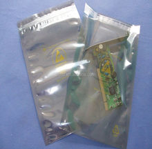 Antistatic Bag with Self-adhered Stripe