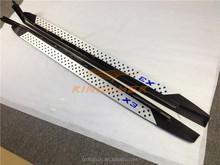 OEM quality aluminium Running board side step nerf bar apply to B/MW X3 F25 2011+