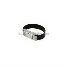 Hot Sale High Quality Leather Wristband USB 2.0 Storage For PC