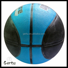 High quality 8 panels rubber basketball balls