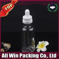 essential oil e liquid 50ml clear glass dropper bottle with child pipette top cap