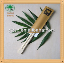 factory price bamboo chopsticks paper chopsticks sleeves customize