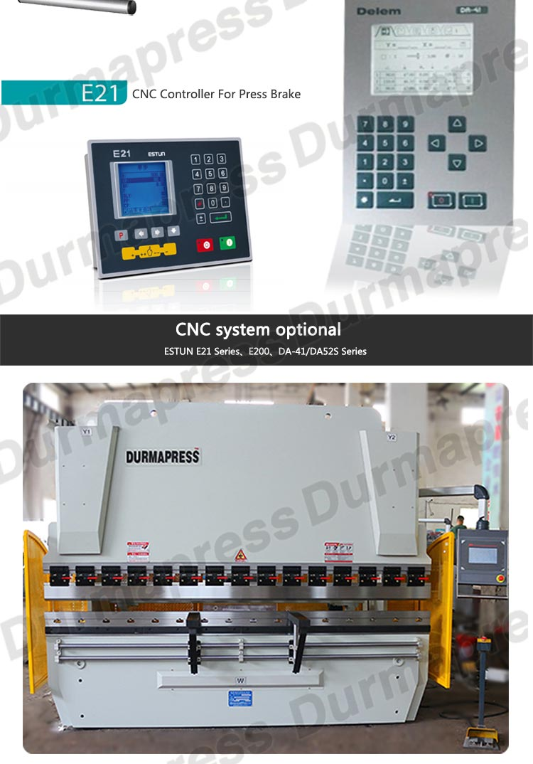 WC67K-160T/3200 유압 프레스 브레이크, cnc 프레스 브레이크, 벤딩 머신