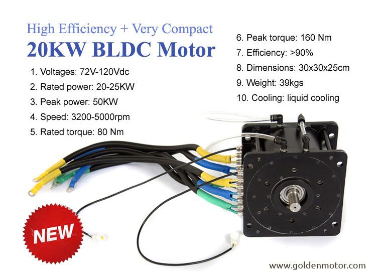Dc Brushless Electric Motorbike Motor 5kw 10kw 48v 72v
