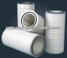Performance hepa air filter,polyester media air filter cylinder cartridge