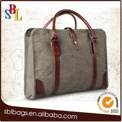 custom computer bag& canvas laptop messenger bag & tote laptop bag