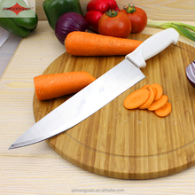 ZY-B10512 10 inch stainless steel chef kitchen knife with comfortable PP handle
