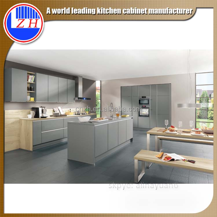 Zhihua Modern Lacquer New Design Malaysia Unique Metal Kitchen Cabinet Buy