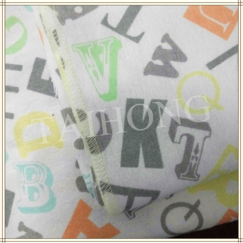 017 cotton  brushed fabric