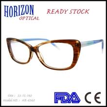 novelty 2015 stock eyeglasses ladies top fanshion acetate frames
