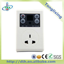 Plug In Digital Programmable Timer Socket Time Switch 10A Week Brand New