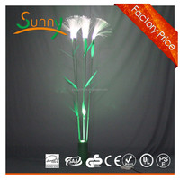 2015 new design and most popular led reed fake tree with waterproof led light tree