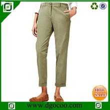 Women\'s casual pantalones de las señoras más reciente de la oficina de desgaste diseños pantalones