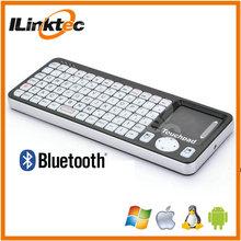 venta al por mayor mini bluetooth teclado con touchpad para tablet android
